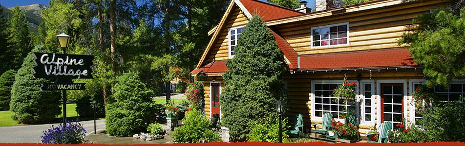 Alpine Village Cabin Al Jasper Alberta Canada